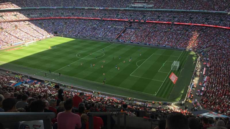 Wembley Stadium, section: 548, row: 21, seat: 253