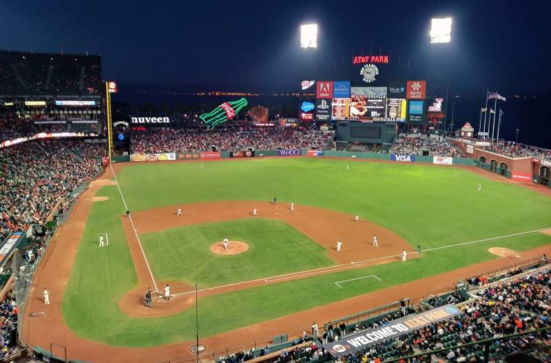 AT&T Park, section: 310, row: 1, seat: 14