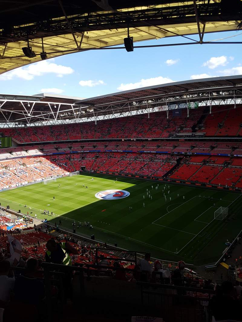 Wembley Stadium, section: 547, row: 19, seat: 219