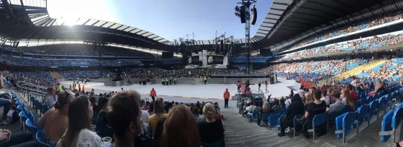 Etihad Stadium (Manchester), section: 114, row: P, seat: 355