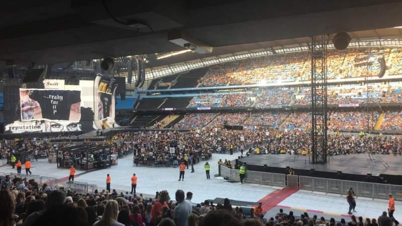 Etihad Stadium (Manchester), section: 122, row: CC