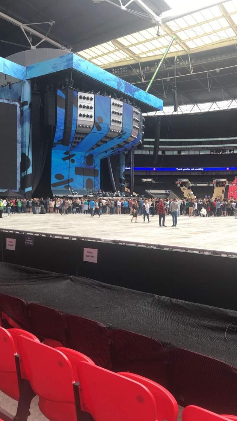 Wembley Stadium, section: 124, row: 4, seat: 50