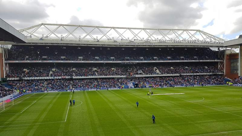 Ibrox Stadium, section: Bar 72, row: LB, seat: 177