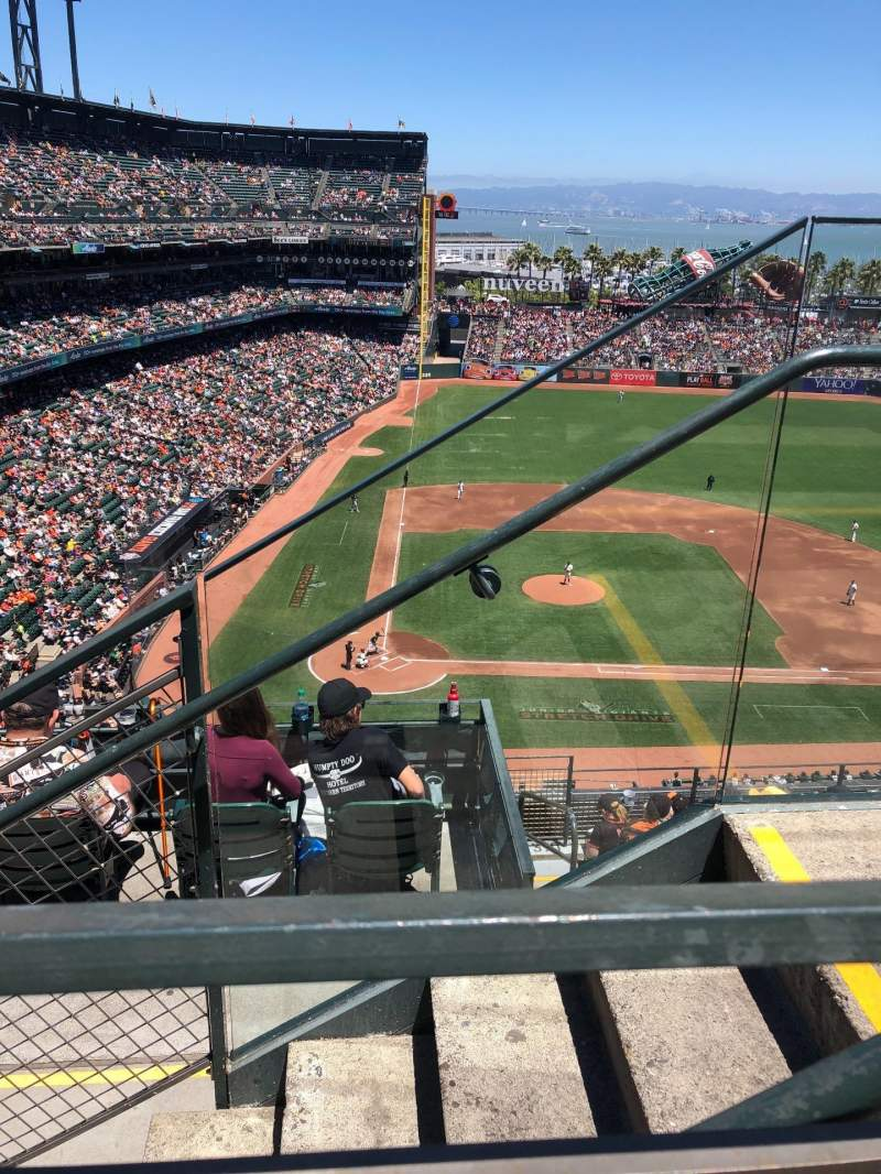 AT&T Park, section: 311, row: 1, seat: 2