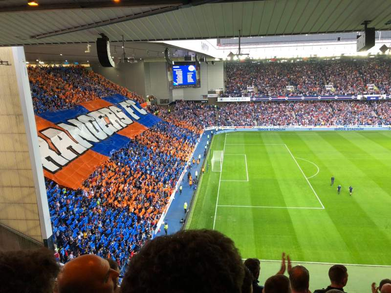 Ibrox Stadium, section: CD6, row: K
