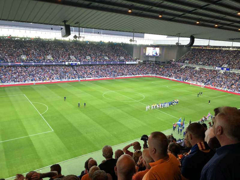 Ibrox Stadium, section: Club Deck 6, row: K