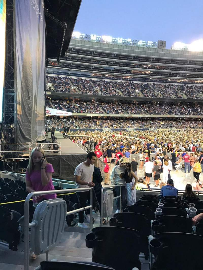 Soldier Field, section: 144, row: 9, seat: 2
