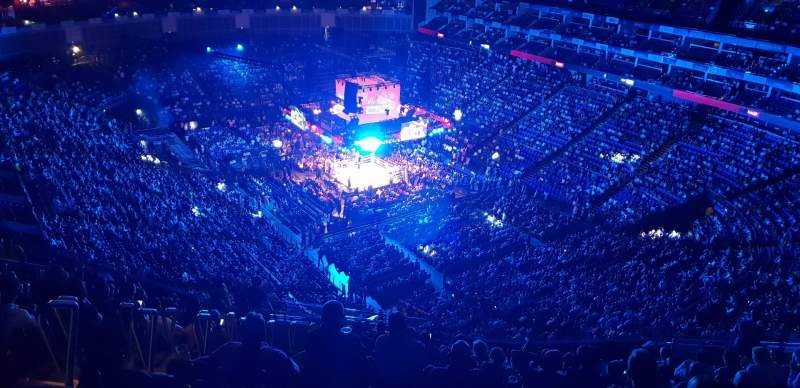 The O2 Arena, section: 408, row: U, seat: 429