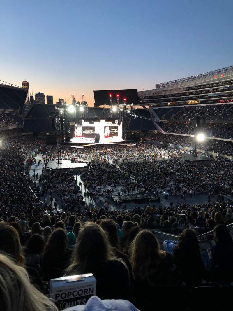 Soldier Field, section: 325, row: 9, seat: 18