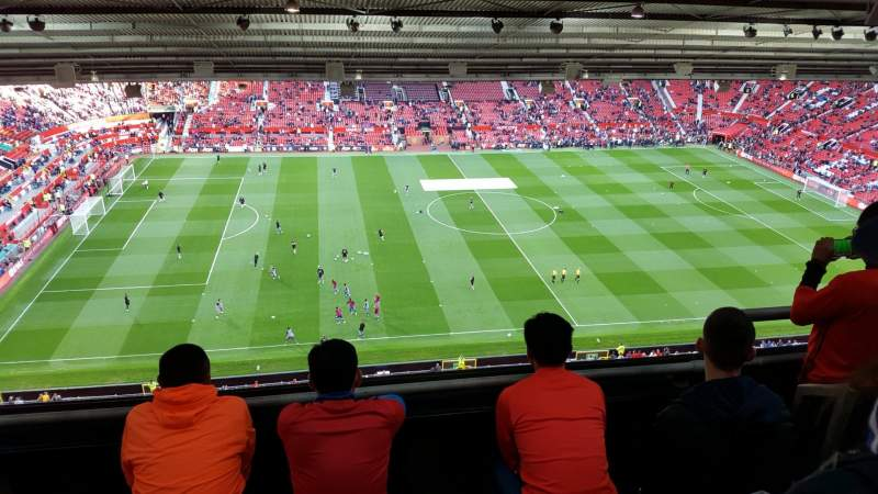 Old Trafford, section: NN403, row: 4, seat: 176
