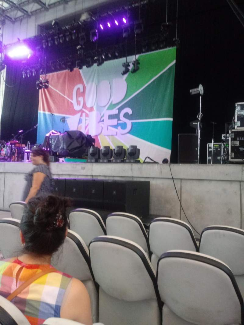 Daily's Place, section: O1, row: D, seat: 7