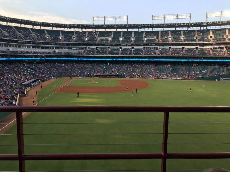 Texas Rangers Globe Life Oark, section: 247, row: 3, seat: 16