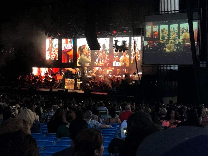 Coral Sky Amphitheatre, section: 4, row: EE, seat: 12