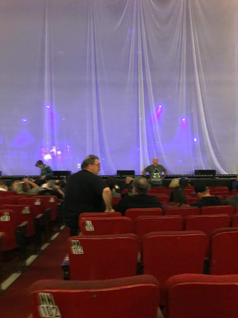 Seating view for Orpheum Theatre (Boston) Section Orchestra RC Row PP Seat 102