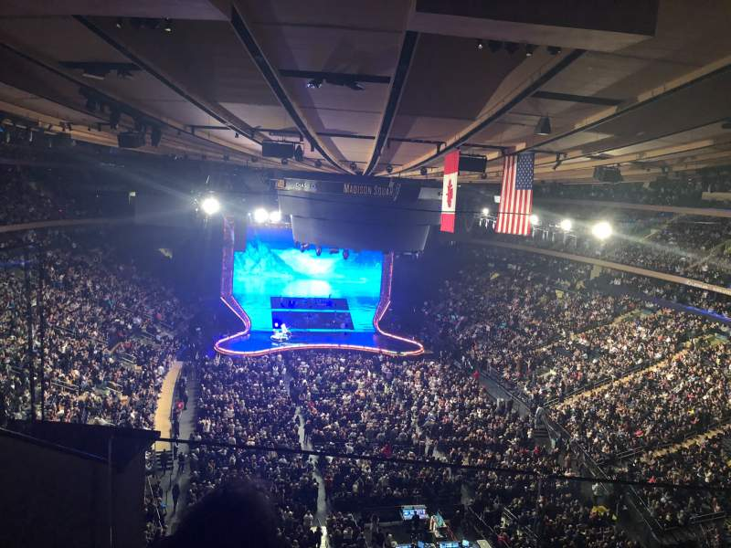 Madison Square Garden: Interactive Seating Chart