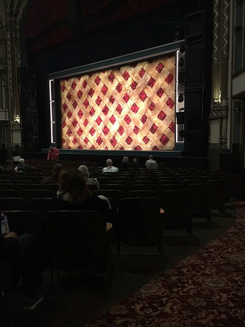 Golden Gate Theatre Section Orchestra Row N Seat 28