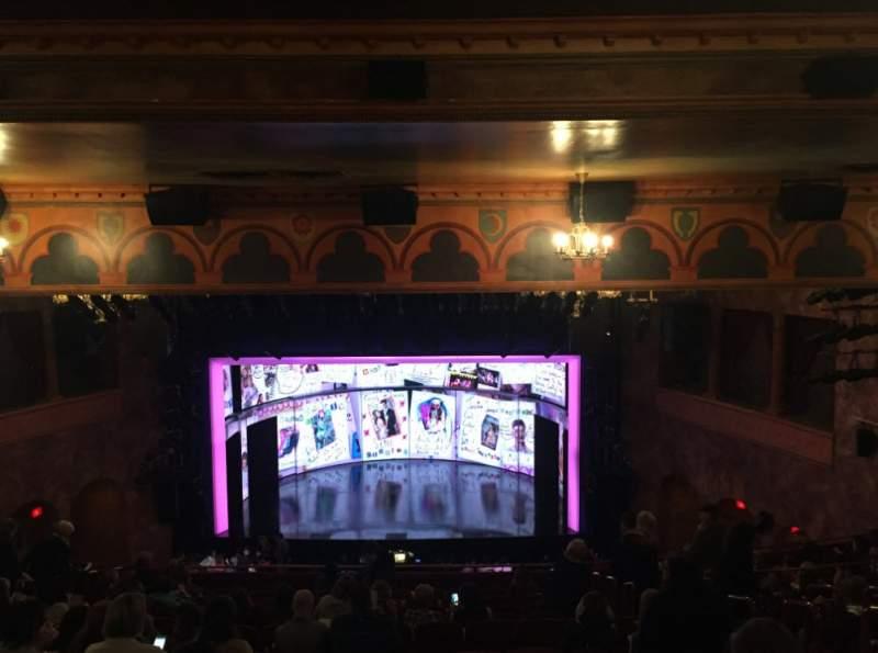 August Wilson Theatre, section Mezzanine C, row P, seat ...