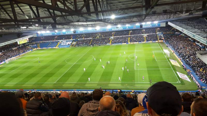Elland Road, Section L37, Row X, Seat 37