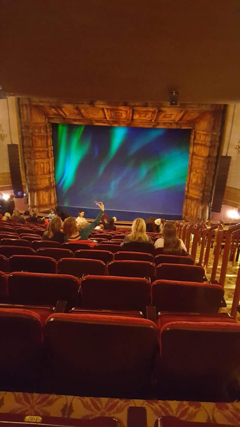 St James Theatre Section Mezzanine C Row R Seat 101