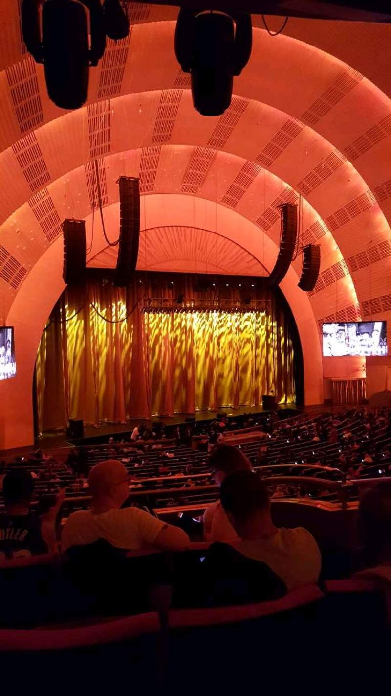 Radio City Music Hall Section 1st Mezzanine 7 Row D Seat 704