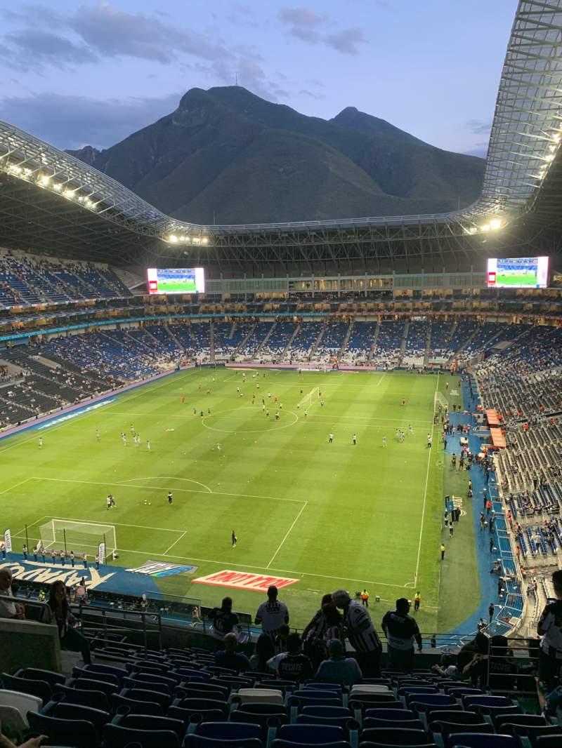 Seating view for Estadio BBVA Section 223 Row L Seat 6