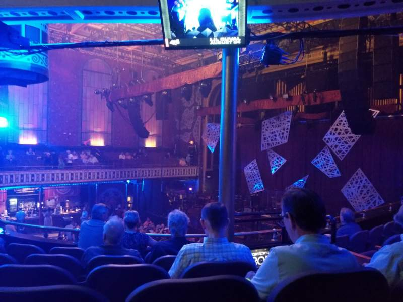 Seating view for The Tabernacle Section 203 Row F Seat 1