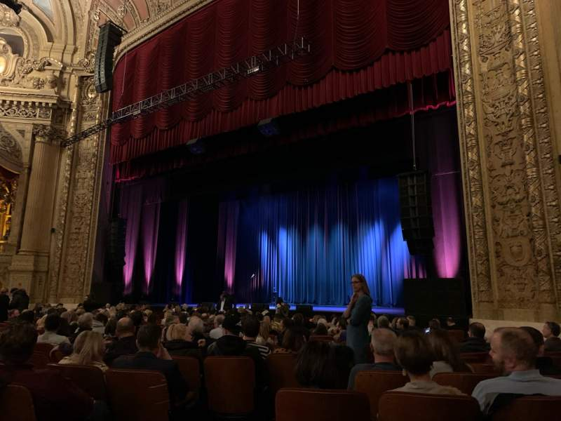 Seating view for Chicago Theatre Section MNFL2R Row C Seat 208