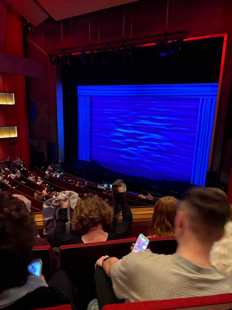 Seating view for Bord Gáis Energy Theatre Section Circle Row C Seat 50