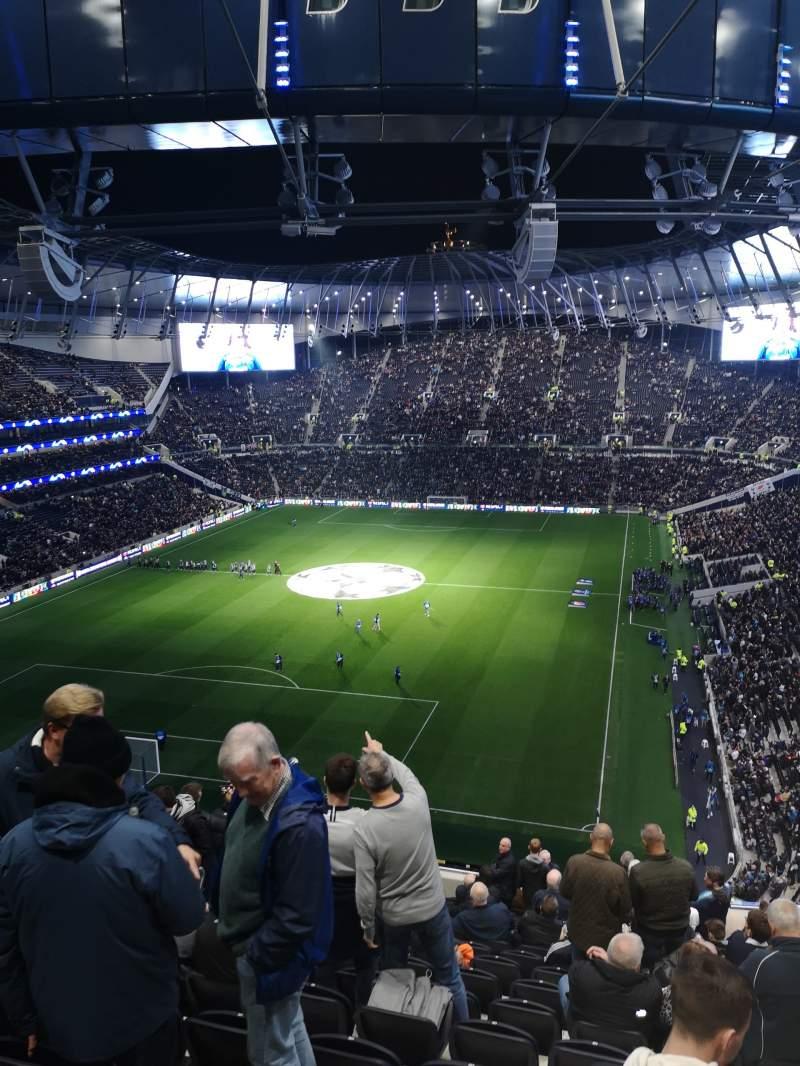 Tottenham Hotspur Stadium Section 513 Row 17 Seat 429 Tottenham Hotspur Vs Fk Crvena Zvezda Shared Anonymously