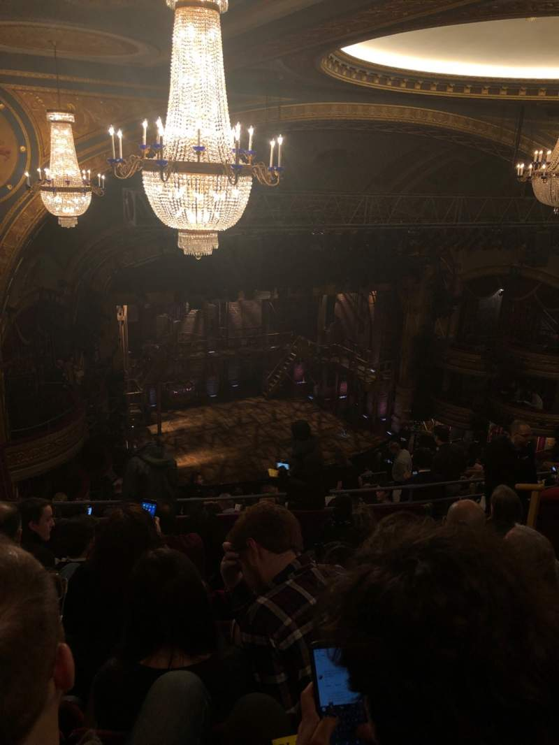 Seating view for Richard Rodgers Theatre Section Rear Mezzanine L Row M Seat 27