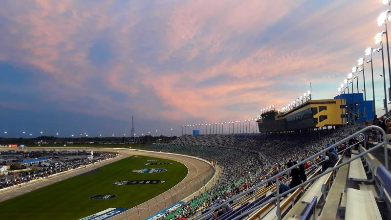 Seating view for Kansas Speedway Section 256 Row 59 Seat 9