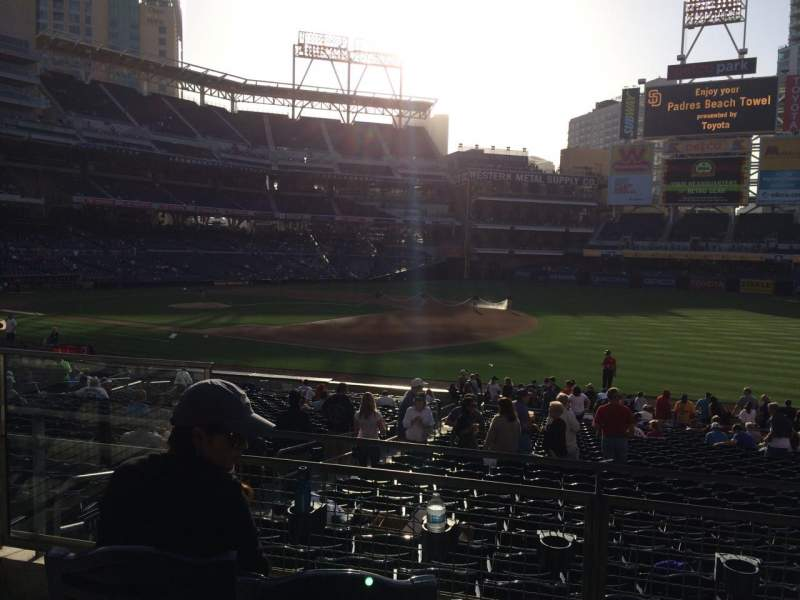 Petco Park, section: 115, row: 29, seat: 4