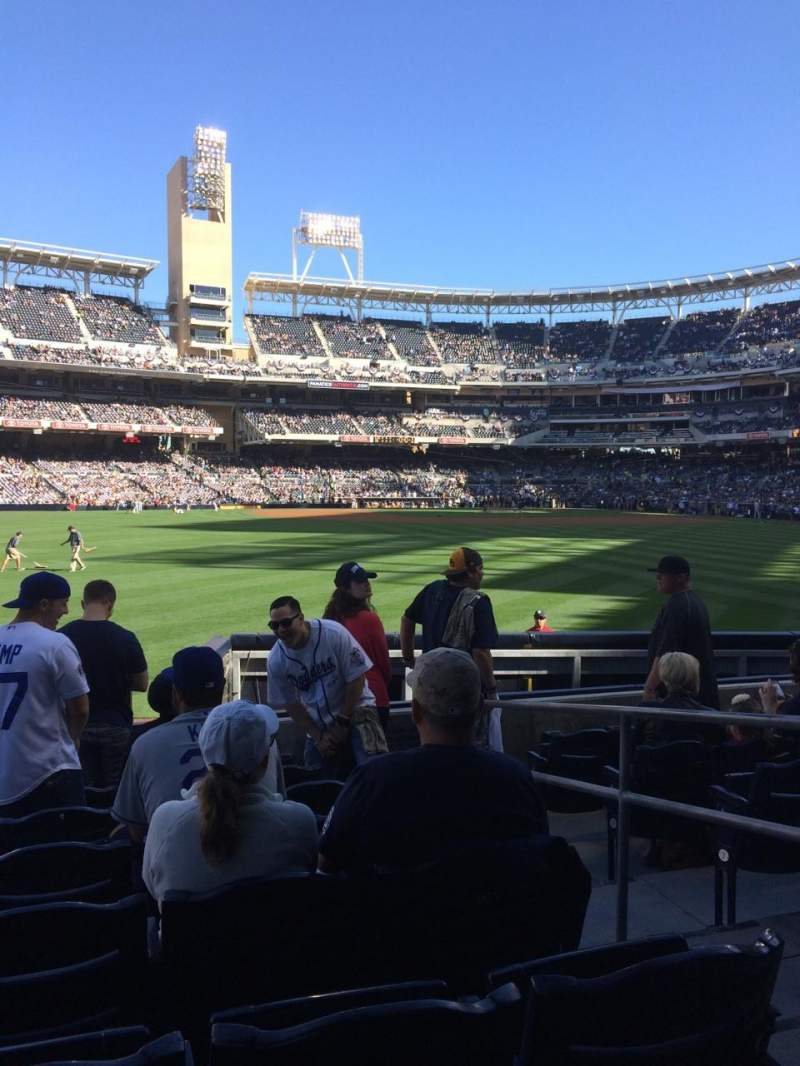 Petco Park, section: 134, row: 7, seat: 3
