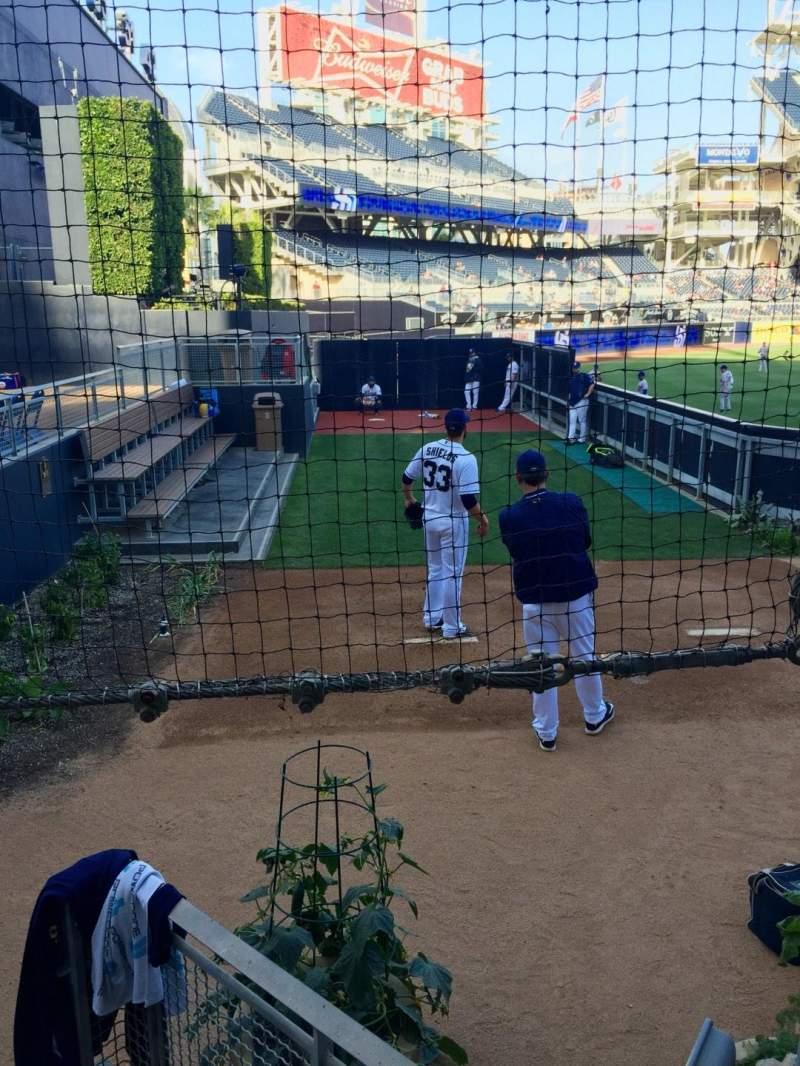 PETCO Park, section: 134, row: 9, seat: 12