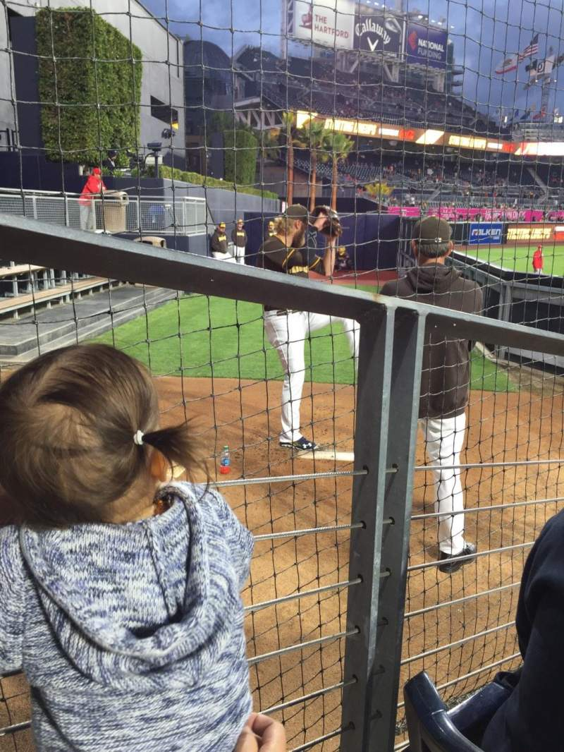 PETCO Park, section: 134, row: 4, seat: 11