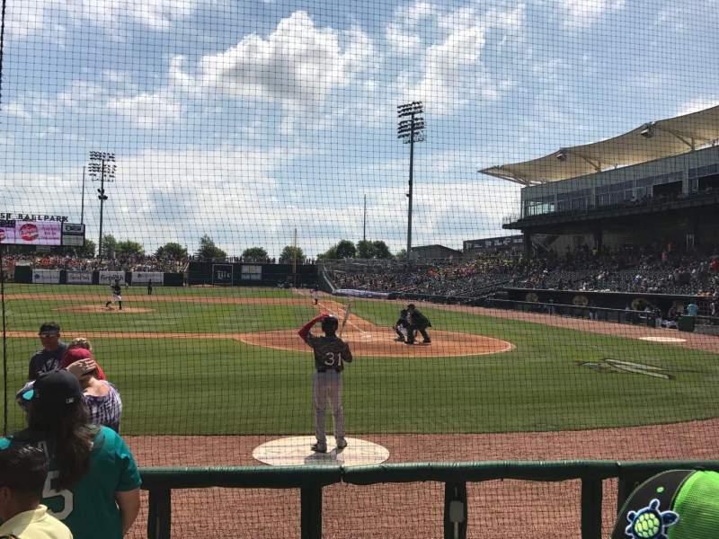 Arvest Ballpark, section: 114, row: B, seat: 6