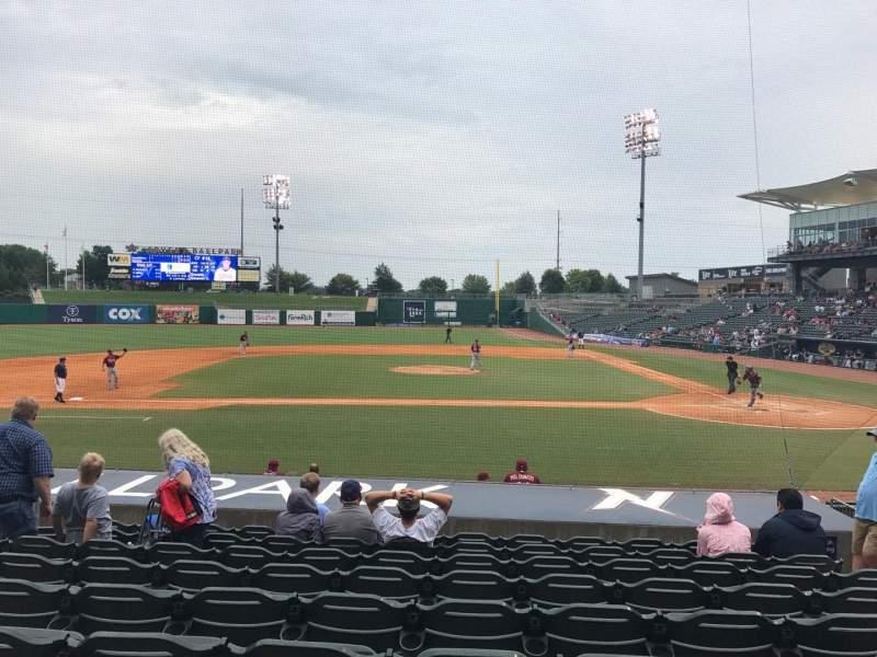 Arvest Ballpark, section: 115, row: N, seat: 6