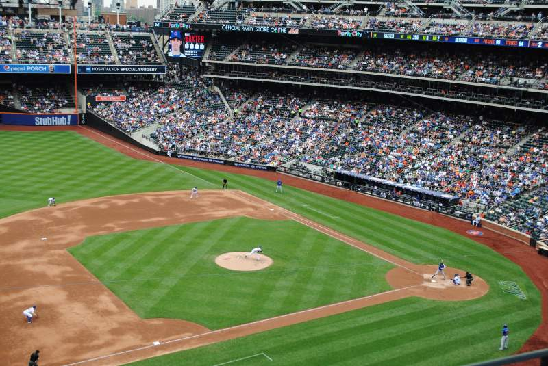 Seating view for Citi Field Section 423 Row 2 Seat 15