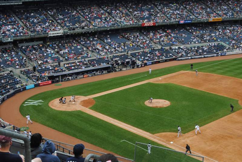 Seating view for Yankee Stadium Section 312 Row 7 Seat 21