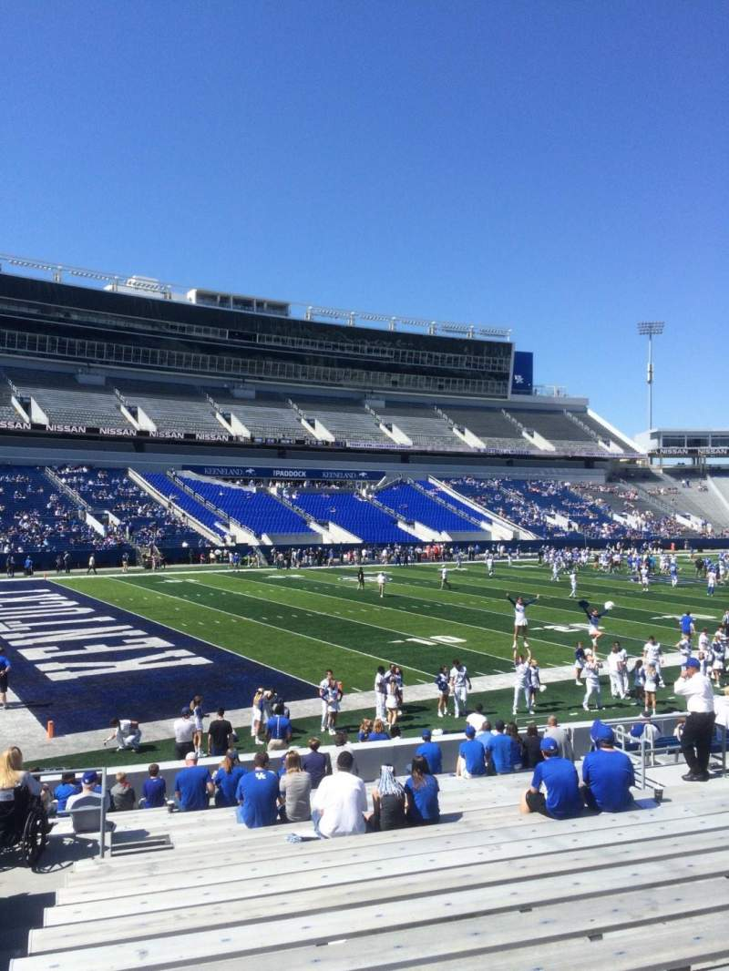 Seating view for Kroger Field Section 2 Row 21 Seat 5