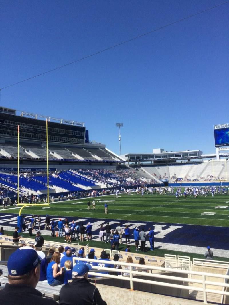 Kroger Field, section 39, row 15, seat 7 - Kentucky ...