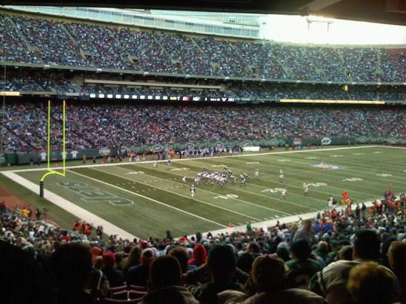 Seating view for Old Giants Stadium