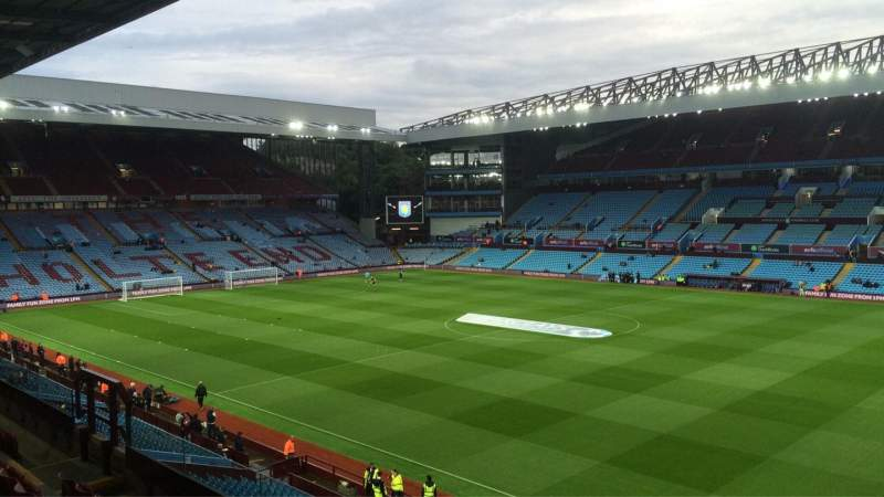 Villa Park, section: P9, row: EE, seat: 52