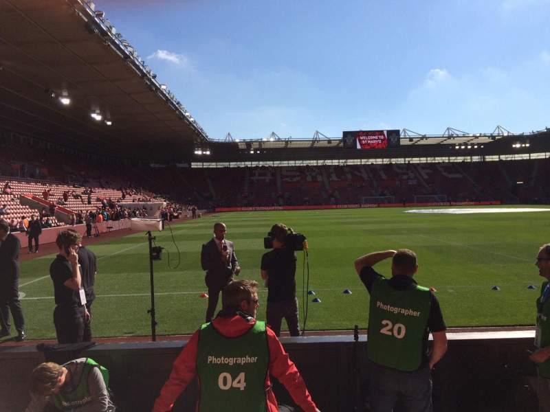 St Mary's Stadium, section: 45, row: C, seat: 1173