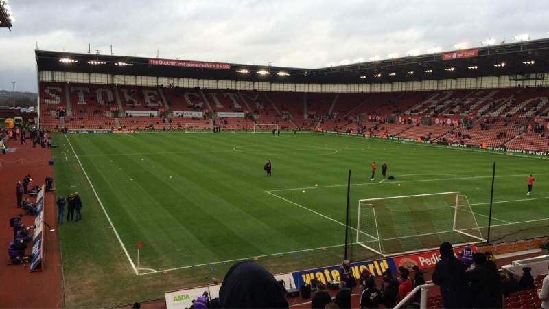 bet365 Stadium, section: 40, row: 20, seat: 999