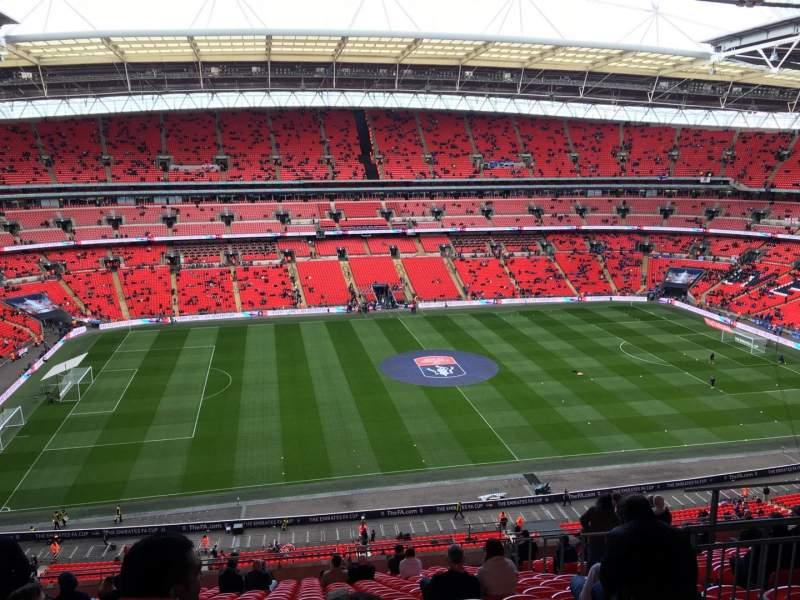 Wembley Stadium, section: 528, row: 19, seat: 54