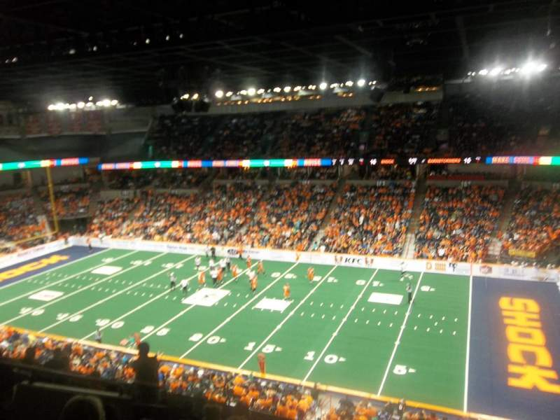 Spokane Arena, section: 218, row: L, seat: 2