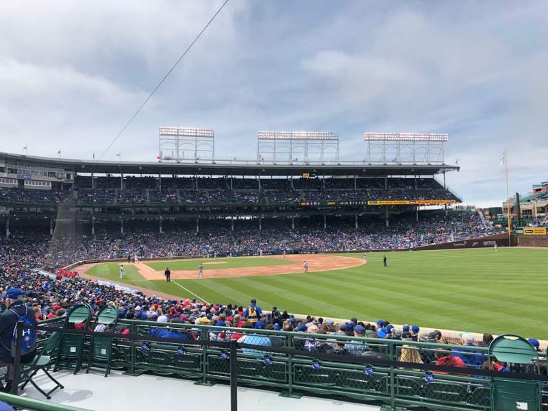 Seating view for Wrigley Field Section 232 Row 2 Seat 20