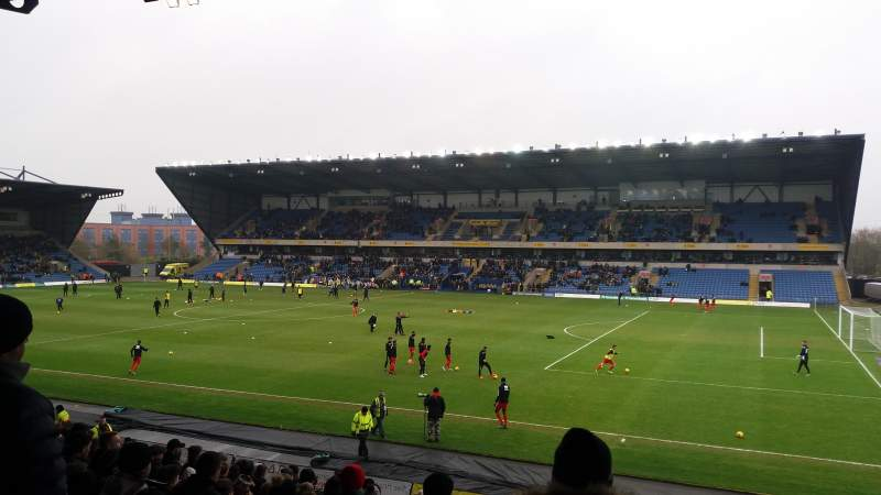 Seating view for Kassam Stadium Section North Stand Row T