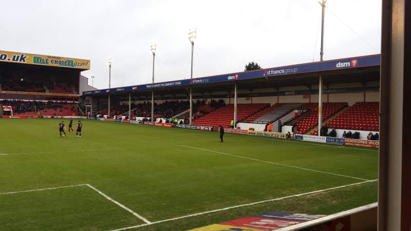 Bescot Stadium, section: Away End